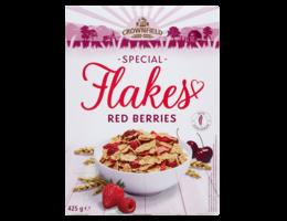 CROWNFIELD Flakes met rode vruchten