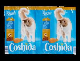 COSHIDA Kattensticks met gevogelte en lever