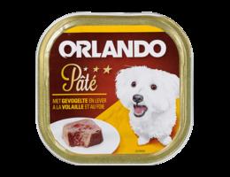 ORLANDO Paté voor honden met gevogelte en lever