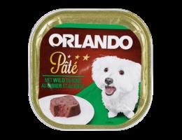 ORLANDO Paté voor honden met wild en rund