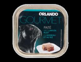 ORLANDO Paté voor honden met lam en rijst