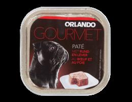 ORLANDO Paté voor honden met rund en lever