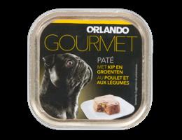 ORLANDO Paté voor honden met kip en groenten