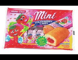 Mister Choc Minicakes aardbei