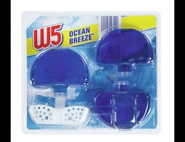 W5 Vloeibare toiletblokjes Ocean