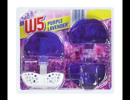 W5 Vloeibare toiletblokjes Purple lavendel