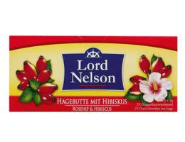 LORD NELSON Rozenbottel thee