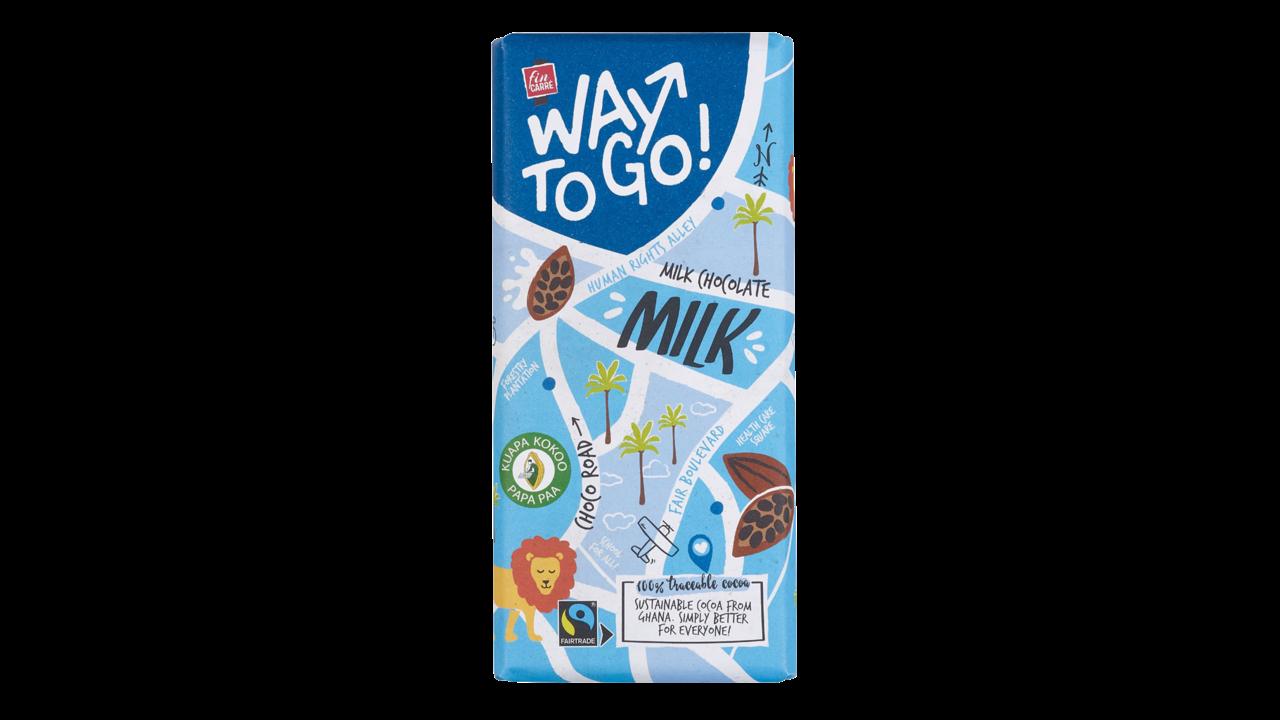 FIN CARRÉ Way To Go milk