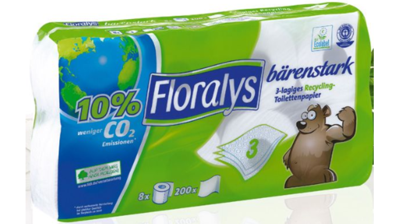 Floralys Gerecycleerd toiletpapier