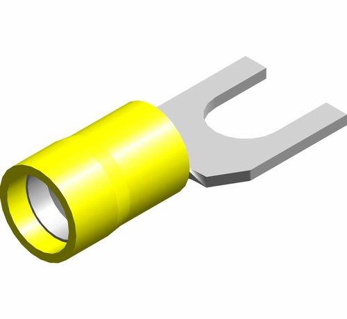 Vorkkabelschoen easy entry - PVC geïsoleerd - Draaddikte 4.0-6.0 mm² - 100 st.