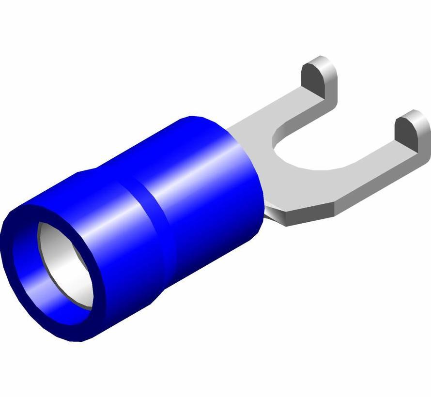 Lip-vorkkabelschoen easy entry - PVC geïsoleerd - Draaddikte 1.5-2.5 mm² - 100 st.