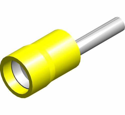 Penstekker met easy entry - PVC geïsoleerd - Draaddikte 4.0-6.0 mm² - 100 st