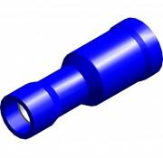 Kogel kabelschoen female - PVC geïsoleerd - Draaddikte 1.5-2.5 mm² - 100 st