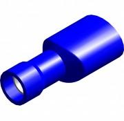 Vlakstekker female met easy entry - volledig geïsoleerd - Draaddikte 1.5-2.5 mm² - 100 st