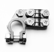 Accupoolklem Double plated Alpha type - Positive clamp