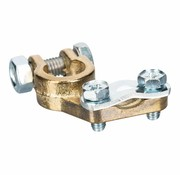 Accupoolklem reinforced straight Alpha type 10 - 50 mm² - Positive clamp