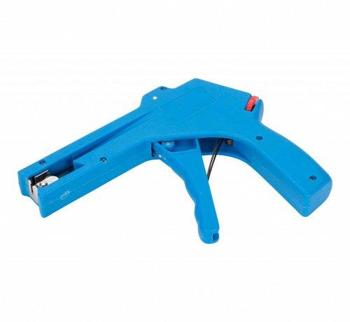 Kabelbindertang voor kabelbinders van 2.4 - 4.8 mm breed - blauw