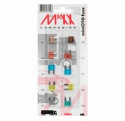 10-delig assortiment miniOTO mini steekzekeringen