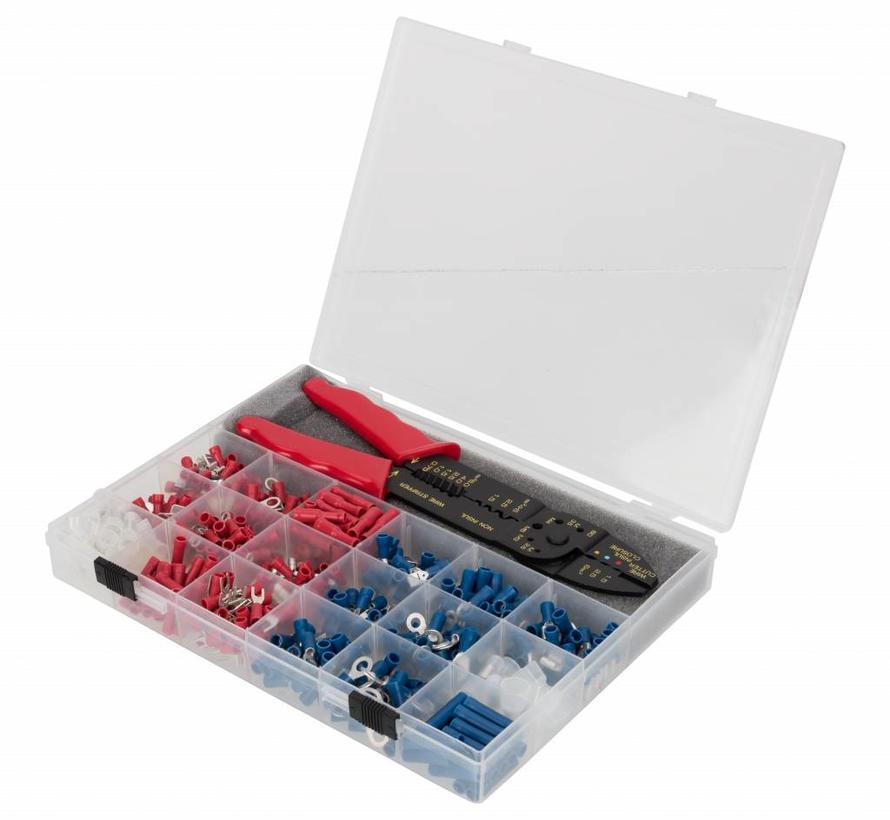 541-delig assortiment kabelschoentjes met multi tool