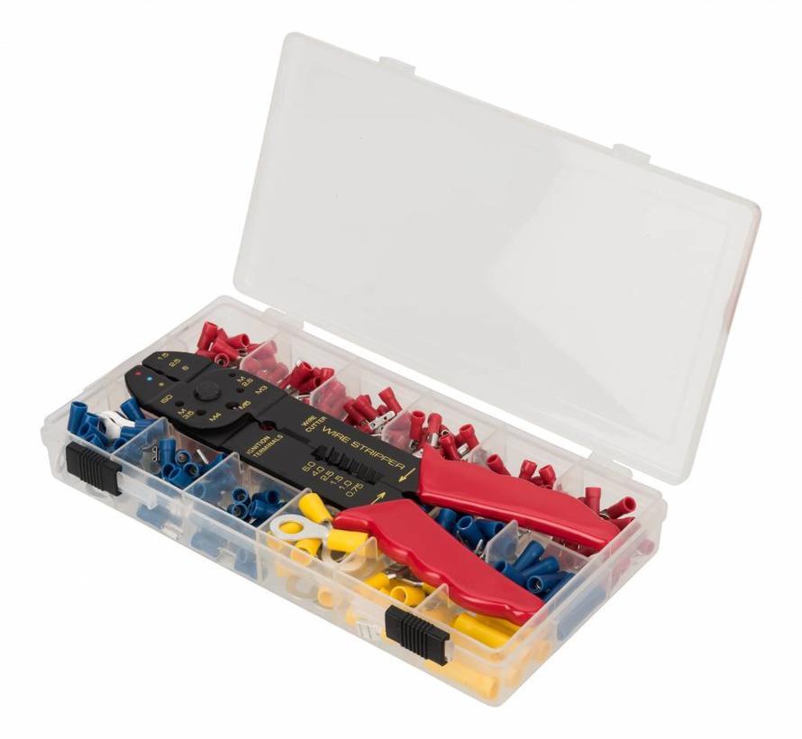 307-delig assortiment kabelschoentjes met multi tool