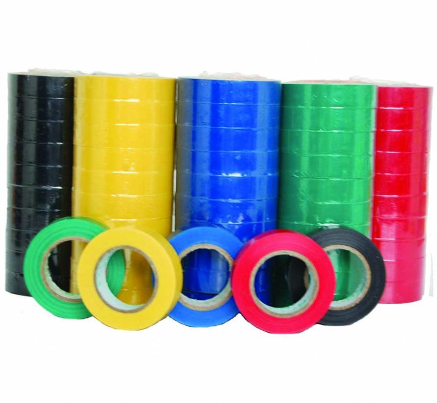 PVC isolatie tape - 15 mm x 10 m