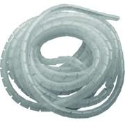 Spiral wrap kabelgeleider wit / transparant