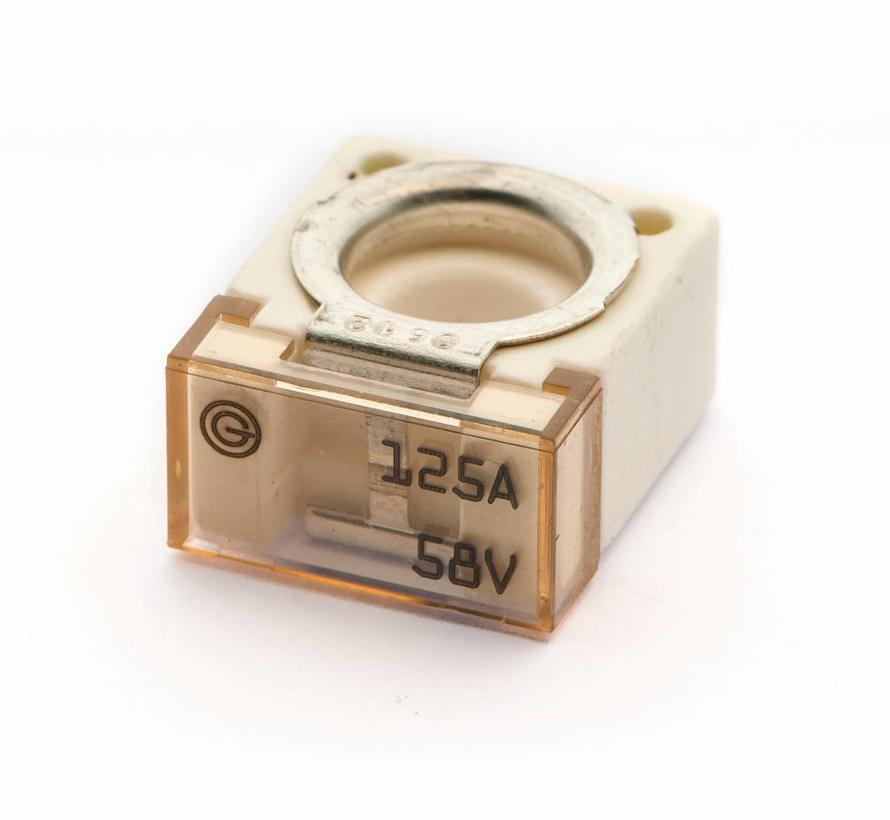 Cube Bolt-on zekering 125 A / 58 V