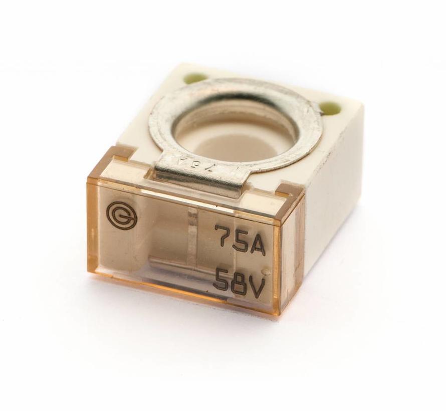 Cube Bolt-on zekering 75 A / 58 V