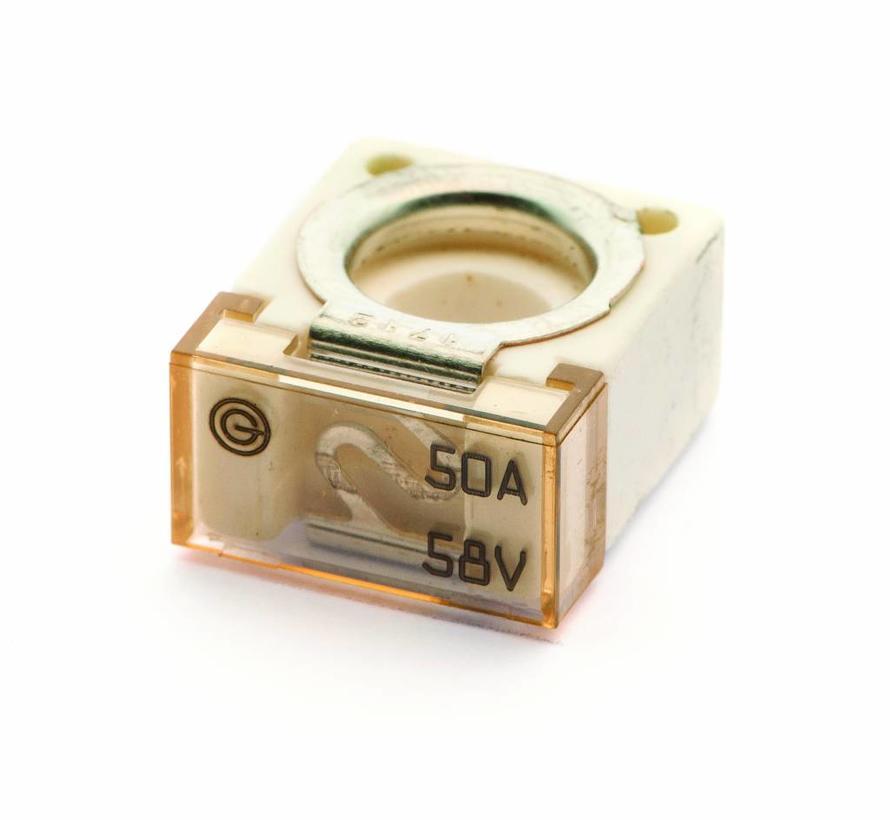 Cube Bolt-on zekering 50 A / 58 V