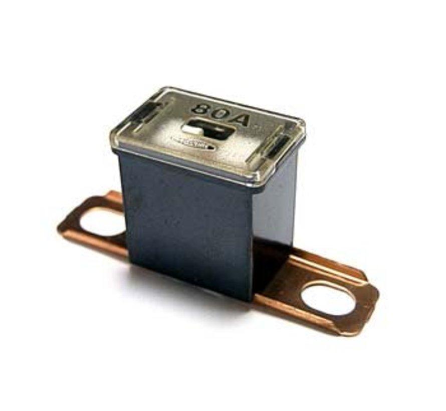Cartridge zekering CS/CT serie horizontal bolt-on 80 Ampère / 58 V