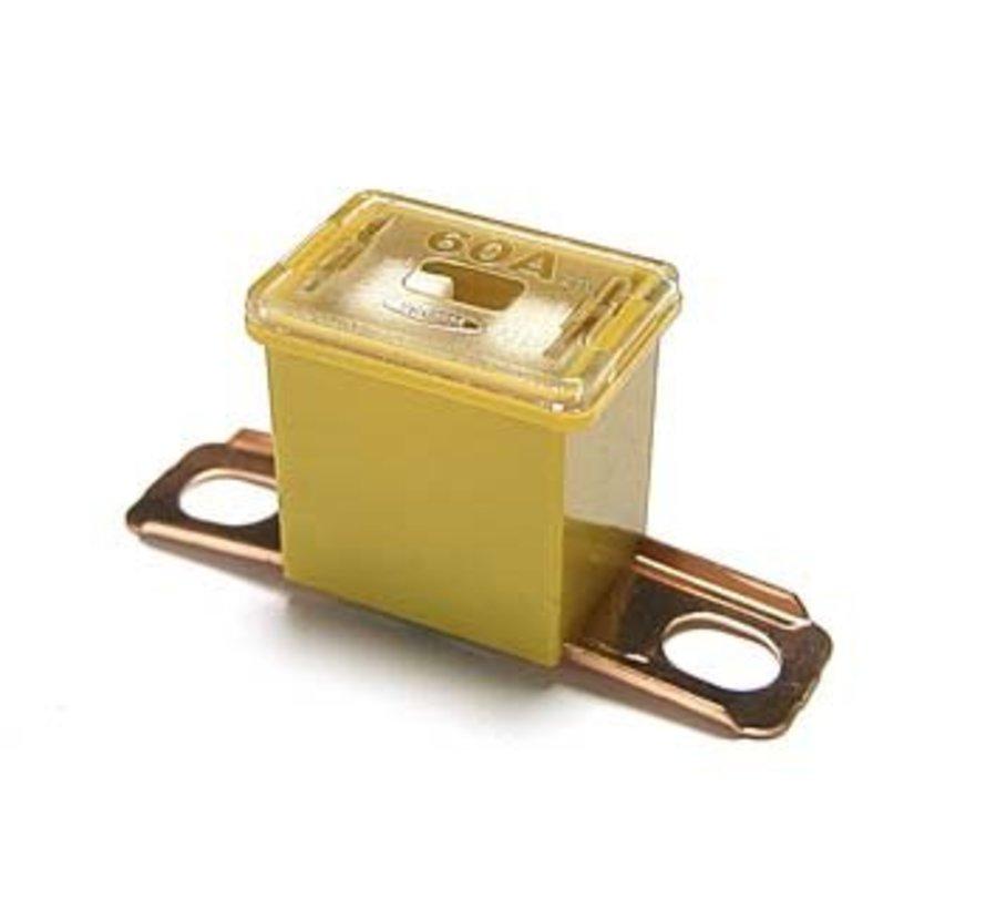 Cartridge zekering CS/CT serie horizontal bolt-on 60 Ampère / 58 V