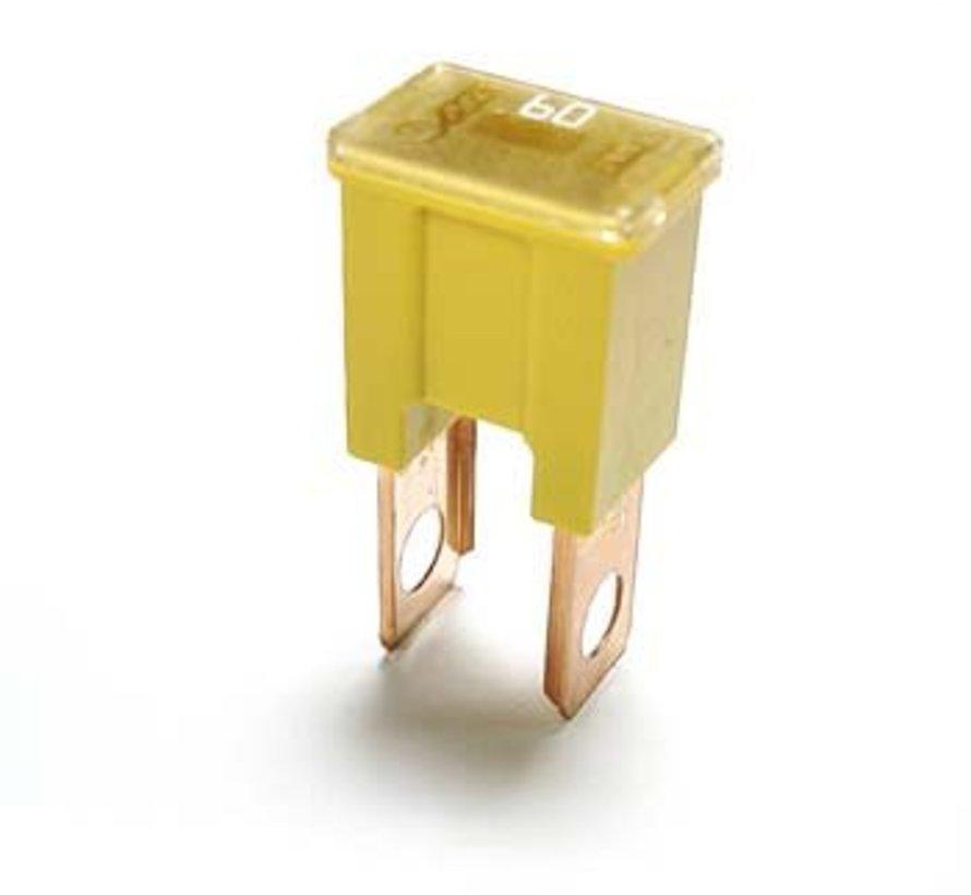 Cartridge zekering B serie vertical bolt-on 60 Ampère / 58 V