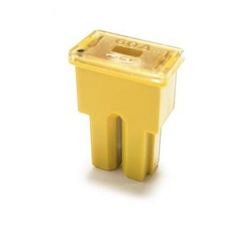 Cartridge zekering Ampère AS serie female 60 Ampère / 58 V