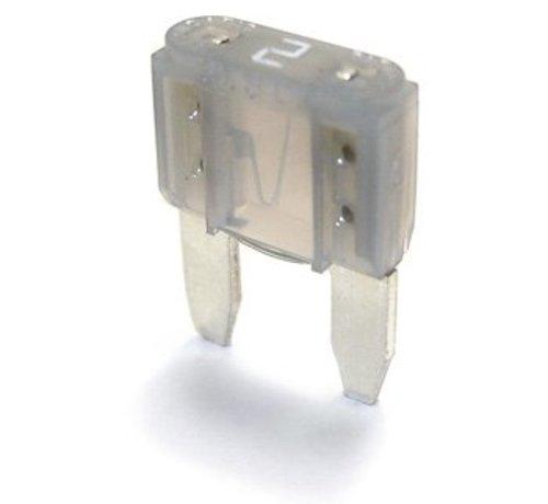 Mini steekzekering 2 Ampère / 32 V - 50 stuks