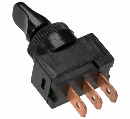 Tuimelschakelaar aan/uit/aan - 3 kabelschoen aansluitingen