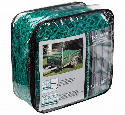 Quparts aanhangernet - 1.50 x 2.20 m - Groen
