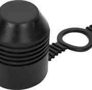 trekhaak dop met ring - rubber