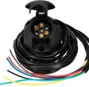 Universele kabelset voor trekhaak - 7-Polig incl. montage materiaal - lengte: 1.5m