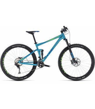 CUBE CUBE STEREO 120 RACE BLUE/GREEN 2018