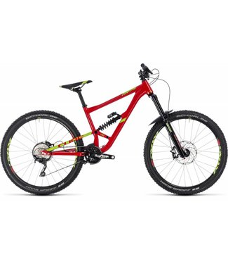 CUBE CUBE HANZZ 190 RACE 27.5 RED/LIME 2018