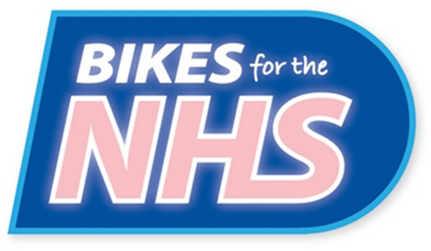 Bikes for the NHS logo