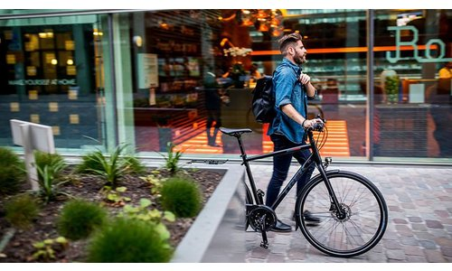 Hybrid and City Commuter Bikes