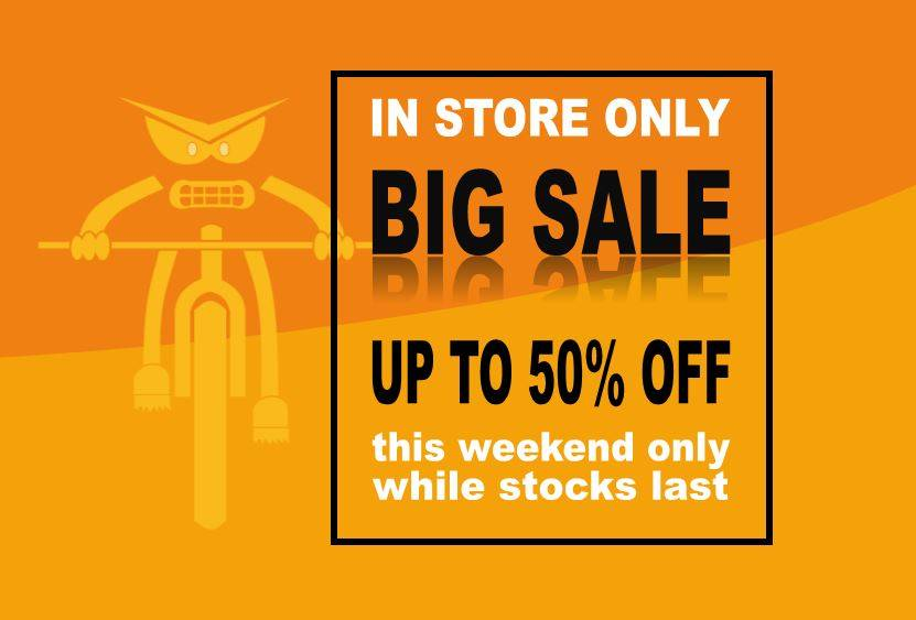 In Store Only Weekend Winter Sale
