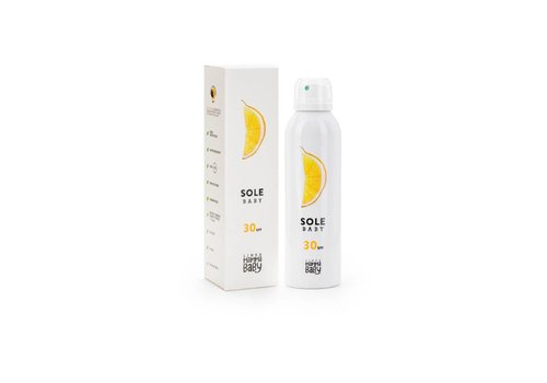 Linea MammaBaby Zonnecrème voor baby's SPF30 (150ml)