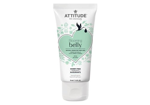 Attitude Blooming Belly Natural tired legs 75ml