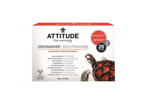 Attitude Dishwasher eco-pouches 26pcs