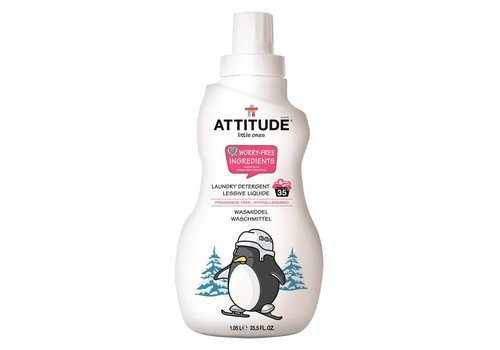 Attitude Little Ones Laundry detergent fragrance-free 1L