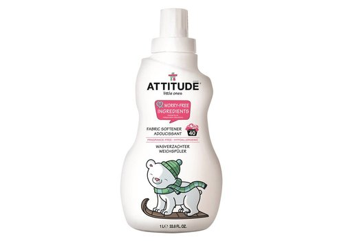 Attitude Little Ones Wasverzachter parfumvrij 1L