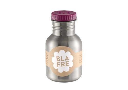 Blafre Steel bottle 300ml plum red