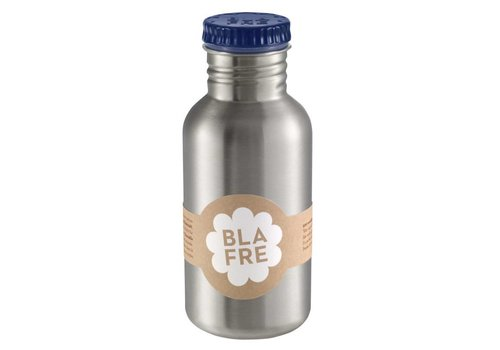 Blafre Steel bottle 500ml dark blue